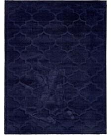 Filigree Shag Fil2 Navy Blue Area Rug Collection