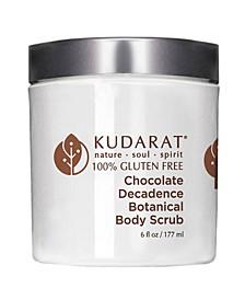 Chocolate Decadence Botanical Body Scrub, 6 oz