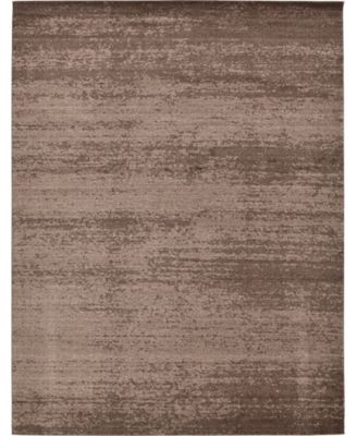 Lyon Lyo3 Brown 6' x 9' Area Rug
