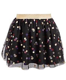 Little Girls Dot Tulle Skirt, Created For Macy's