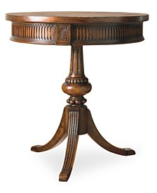 Calliope Round Pedestal Accent Table