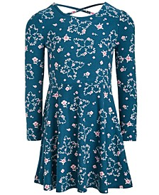 Toddler Girls Butterfly Fit & Flare Dress, Created For Macy's