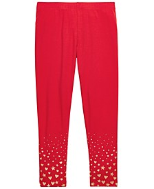 Toddler Girls Glitter-Print Leggings, Created For Macy's