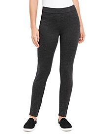 Herringbone Ponté Knit Leggings, Created For Macy's