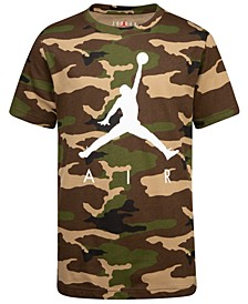 Big Boys Camo-Print Air T-Shirt