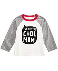 Toddler Boys Cool Mom-Print Cotton T-Shirt, Created For Macy's