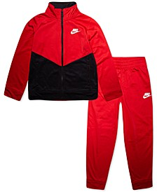 Little Boys 2-Pc. Colorblocked Jacket & Jogger Pants Set