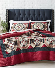 Martha Stewart Collection Artisan Patchwork Quilt Collection, Created For Macy's