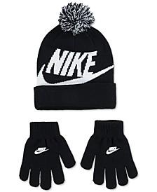 2-Pc. Swoosh Beanie & Gloves Set, Big Boys