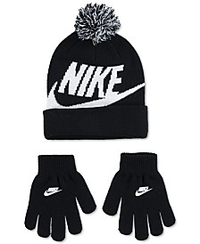 Nike 2-Pc. Swoosh Beanie & Gloves Set, Big Boys
