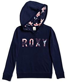 Roxy Big Girls Really Love Logo Hoodie