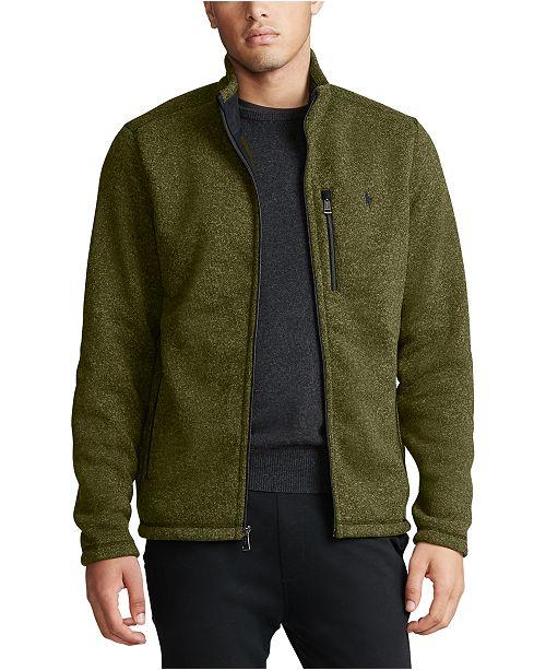 Polo Ralph Lauren Men's Fleece Zip-Up Jacket