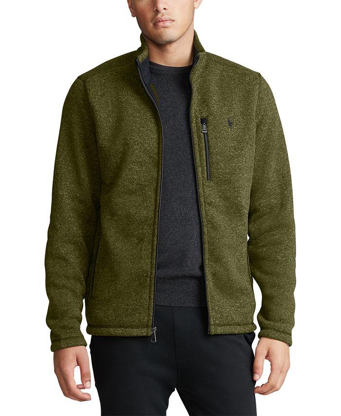 Polo Ralph Lauren - Men's Fleece Mock-Neck Jacket