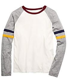 Big Boys Brett Colorblocked Stripe T-Shirt, Created For Macy's