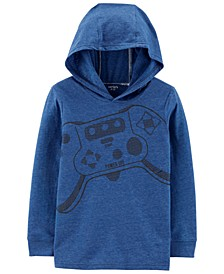 Little & Big Boys Gaming-Print Hoodie