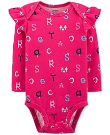 Baby Girls Alphabet Collectible Bodysuit