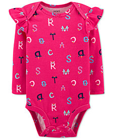 Carter's Baby Girls Alphabet Collectible Bodysuit