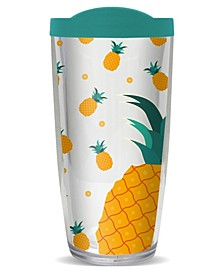 Pineapple Burst Double Wall Insulated Tumbler, 16 oz