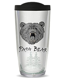 Papa Bear Double Wall Insulated Tumbler, 16 oz