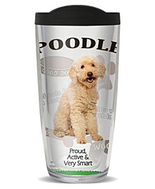 Poodle Double Wall Insulated Tumbler, 16 oz