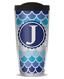 Scallop Pattern - J Double Wall Insulated Tumbler, 16 oz