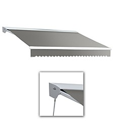 """8' Destin with Hood Manual Retractable Awning, 78"""" Projection"""