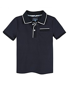 Baby Boy's Polo with Ribbing