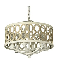 Canyon Home 8 Light Drum Chandelier