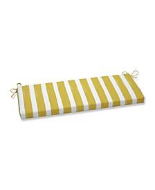 "Nico Stripe 18"" x 45"" Outdoor Bench Cushion"