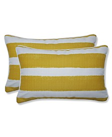 "Nico Stripe 11.5"" x 18.5"" Outdoor Decorative Pillow 2-Pack"