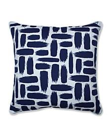 """Geometric Print 25"""" x 25"""" Outdoor Floor Pillow"""