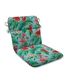 Tropical Paradise Rounded Corners Chair Cushion