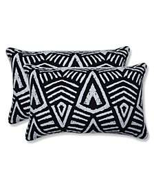 "Tribal Dimensions 11.5"" x 18.5"" Outdoor Pillow 2-Pack"