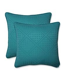"Paragon 18"" x 18"" Outdoor Decorative Pillow 2-Pack"