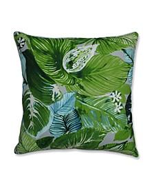 "Lush Leaf Jungle 25"" Outdoor Floor Pillow"
