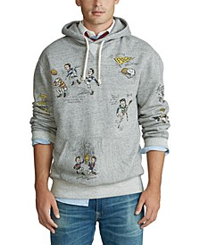 Men's Vintage Fleece Long Sleeve Hoodie