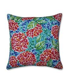 """Garden Blooms 25"""" Outdoor Floor Pillow"""