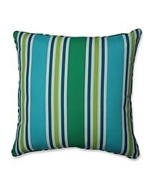 """Aruba Stripe 25"""" x 25"""" Outdoor Floor Pillow"""