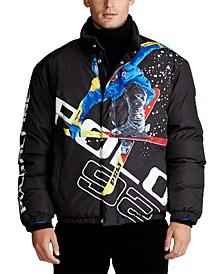 폴로 랄프로렌 Polo Ralph Lauren Mens Alpine Ski Jacket,Alpine Skier Black