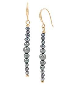 Pearl Linear Earrings