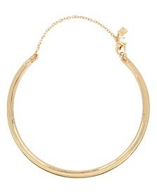 Robert Lee Morris Soho Gold Collar Necklace
