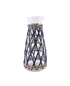 Thirstystone Glass Carafe with Rattan