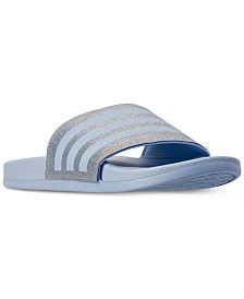 adidas Women's Adilette Comfort Slide Sandals from Finish Line