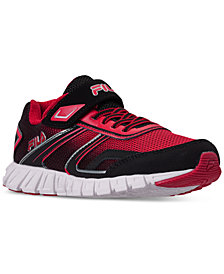 Fila Little Boys' Crater 19 Running Sneakers from Finish Line