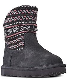 Bearpaw Little Girls' Virginia Boots from Finish Line