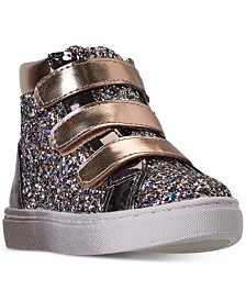 Steve Madden Toddler Girls' TZOOM High Top Casual Sneakers from Finish Line
