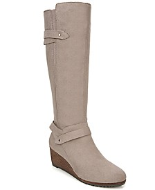 Dr. Scholl's Check It Wide Calf Tall Boots