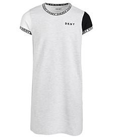 Big Girls Colorblocked T-Shirt Dress