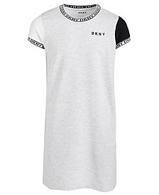 DKNY Big Girls Colorblocked T-Shirt Dress