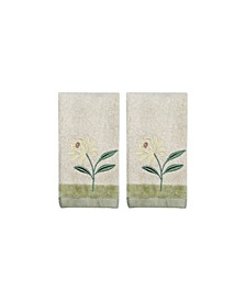 Penelope 2-Pc. Fingertip Towel Set
